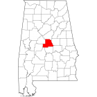 NAIP Aerial Imagery - 2006-2011 - Chilton County - AL - USA