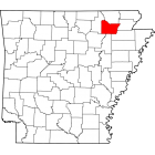 NAIP Aerial Imagery - 2006-2011 - Lawrence County - AR - USA