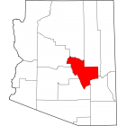 NAIP Aerial Imagery - 2006-2011 - Gila County - AZ - USA
