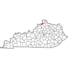 NAIP Aerial Imagery - 2006-2011 - Gallatin County - KY - USA