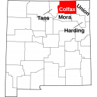 NAIP Aerial Imagery - 2006-2011 - Colfax County - NM - USA