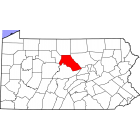 NAIP Aerial Imagery - 2006-2011 - Clinton County - PA - USA