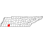 NAIP Aerial Imagery - 2006-2011 - McNairy County - TN - USA