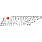 NAIP Aerial Imagery - 2006-2011 - Weakley County - TN - USA