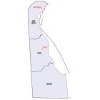 NAIP Aerial Imagery - 2006-2014  Delaware 50cm-1m Res