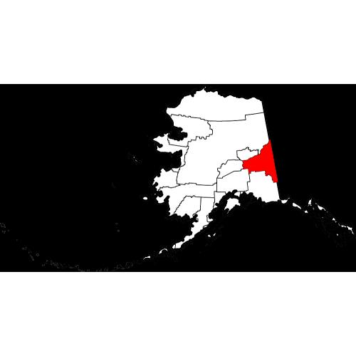 USGS TOPO 24K Maps - Southeast Fairbanks Census Area - AK - USA