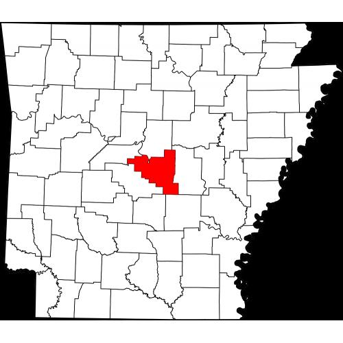 Usgs Topo 24k Maps Pulaski County Ar Usa