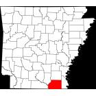 USGS TOPO 24K Maps  - Ashley County - AR - USA