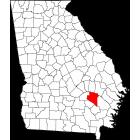 USGS TOPO 24K Maps  - Appling County - GA - USA