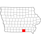USGS TOPO 24K Maps  - Appanoose County - IA - USA