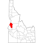 USGS TOPO 24K Maps  - Adams County - ID - USA