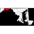USGS TOPO 24K Maps  - Allegany County - MD - USA