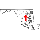 USGS TOPO 24K Maps  - Anne Arundel County - MD - USA