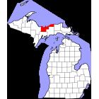 USGS TOPO 24K Maps  - Alger County - MI - USA