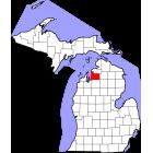 USGS TOPO 24K Maps  - Antrim County - MI - USA