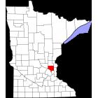 USGS TOPO 24K Maps  - Anoka County - MN - USA