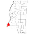 USGS TOPO 24K Maps  - Adams County - MS - USA