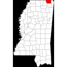 USGS TOPO 24K Maps  - Alcorn County - MS - USA