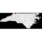 USGS TOPO 24K Maps  - Alleghany County - NC - USA
