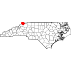 USGS TOPO 24K Maps  - Ashe County - NC - USA