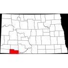 USGS TOPO 24K Maps  - Adams County - ND - USA