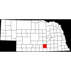 USGS TOPO 24K Maps  - Adams County - NE - USA