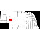 USGS TOPO 24K Maps  - Arthur County - NE - USA