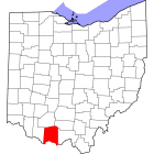 USGS TOPO 24K Maps  - Adams County - OH - USA