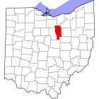 USGS TOPO 24K Maps  - Ashland County - OH - USA