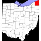USGS TOPO 24K Maps  - Ashtabula County - OH - USA