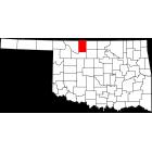 USGS TOPO 24K Maps  - Alfalfa County - OK - USA