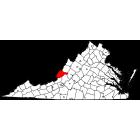 USGS TOPO 24K Maps  - Alleghany County - VA - USA