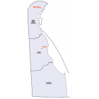 NAIP Aerial Imagery - 2006-2018  Delaware 50cm-1m Res