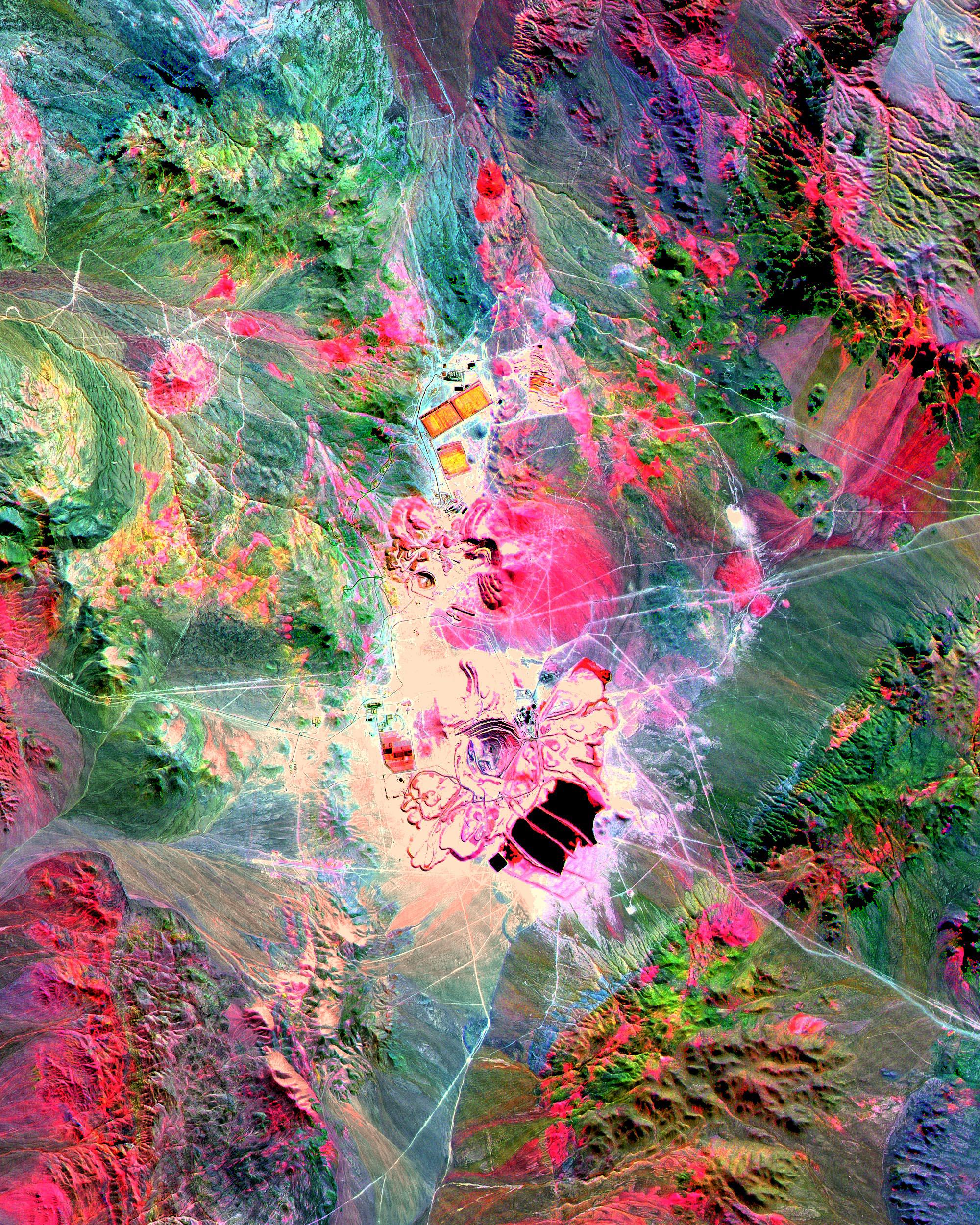 Mineral Mapping  Escondida Mine