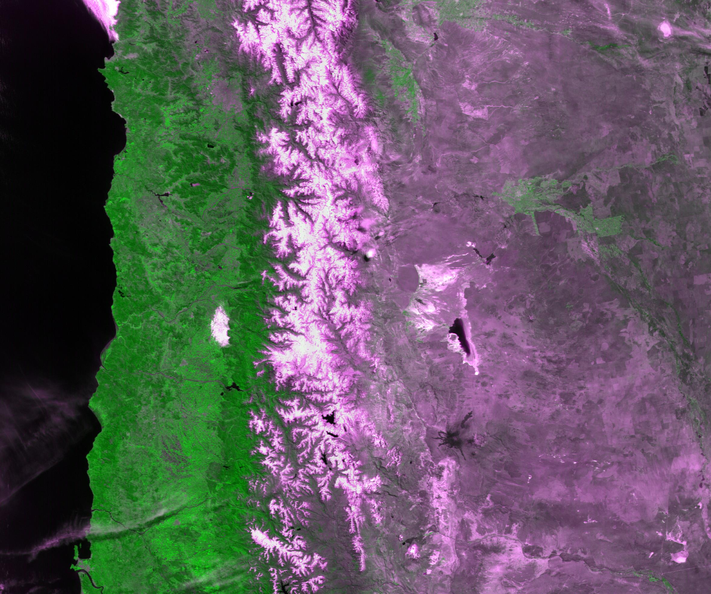Coastline  South America