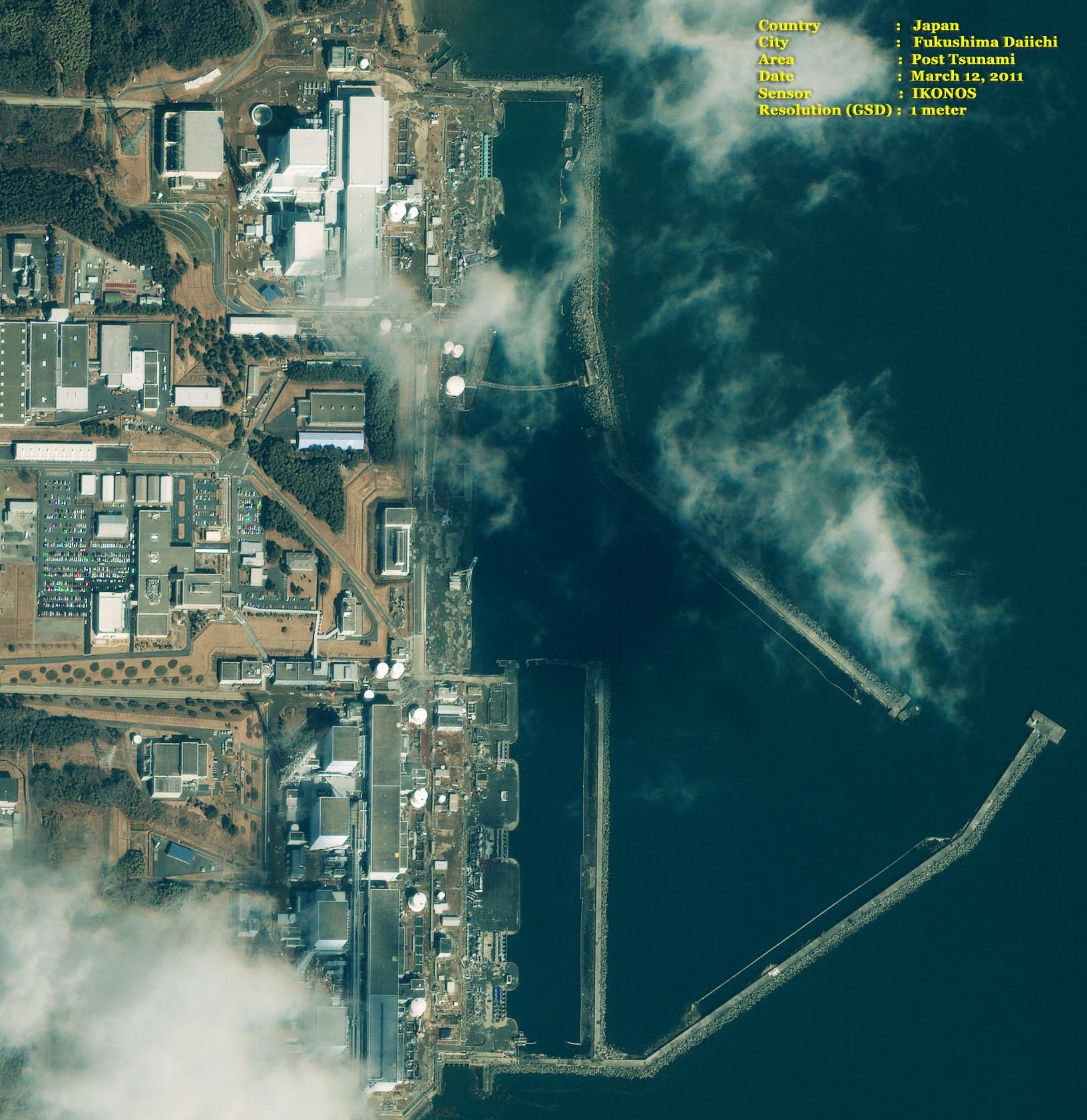 Fukushima Nuclear Plant  Post Tsunami