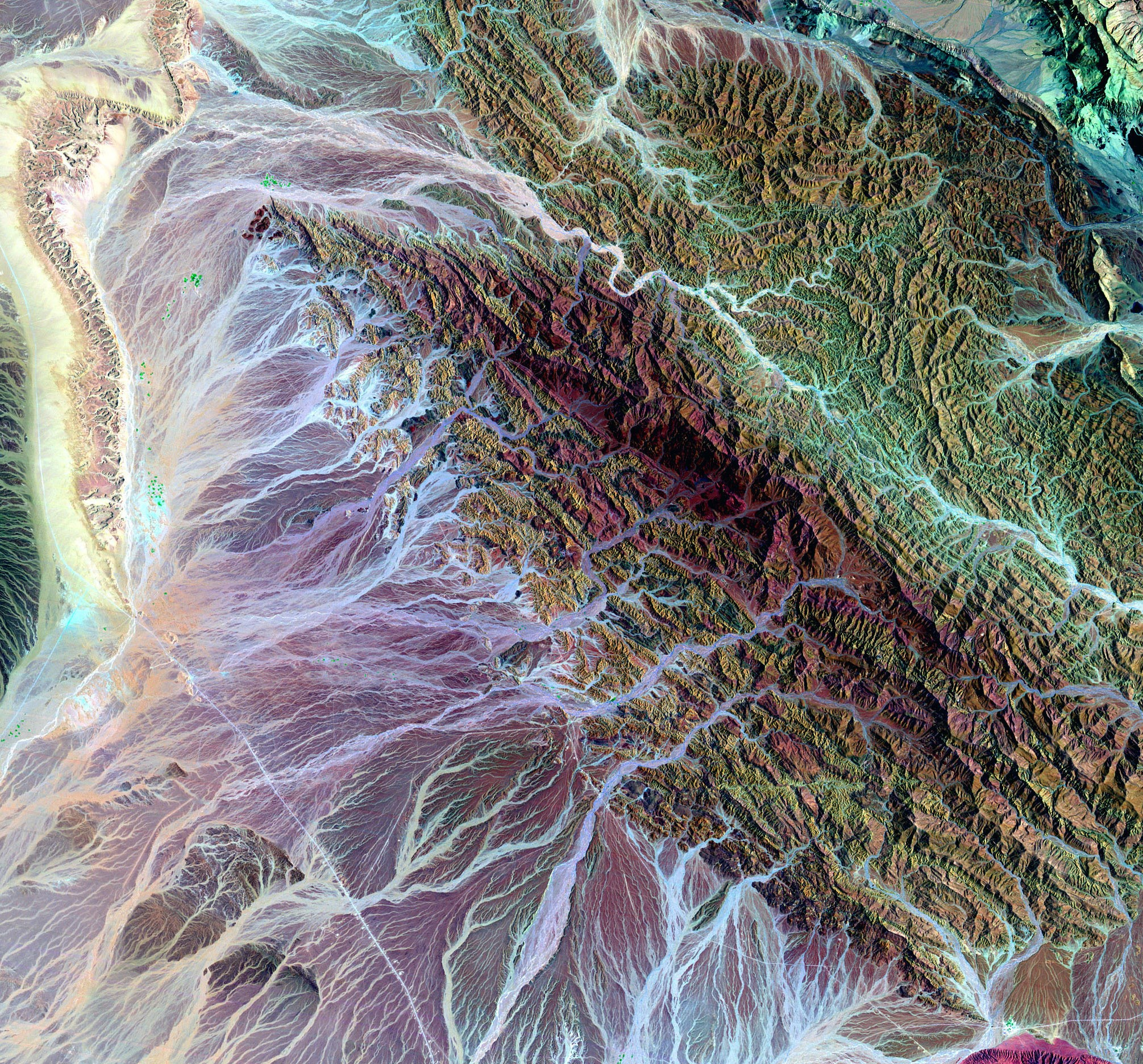 Mineral Mapping  Oman