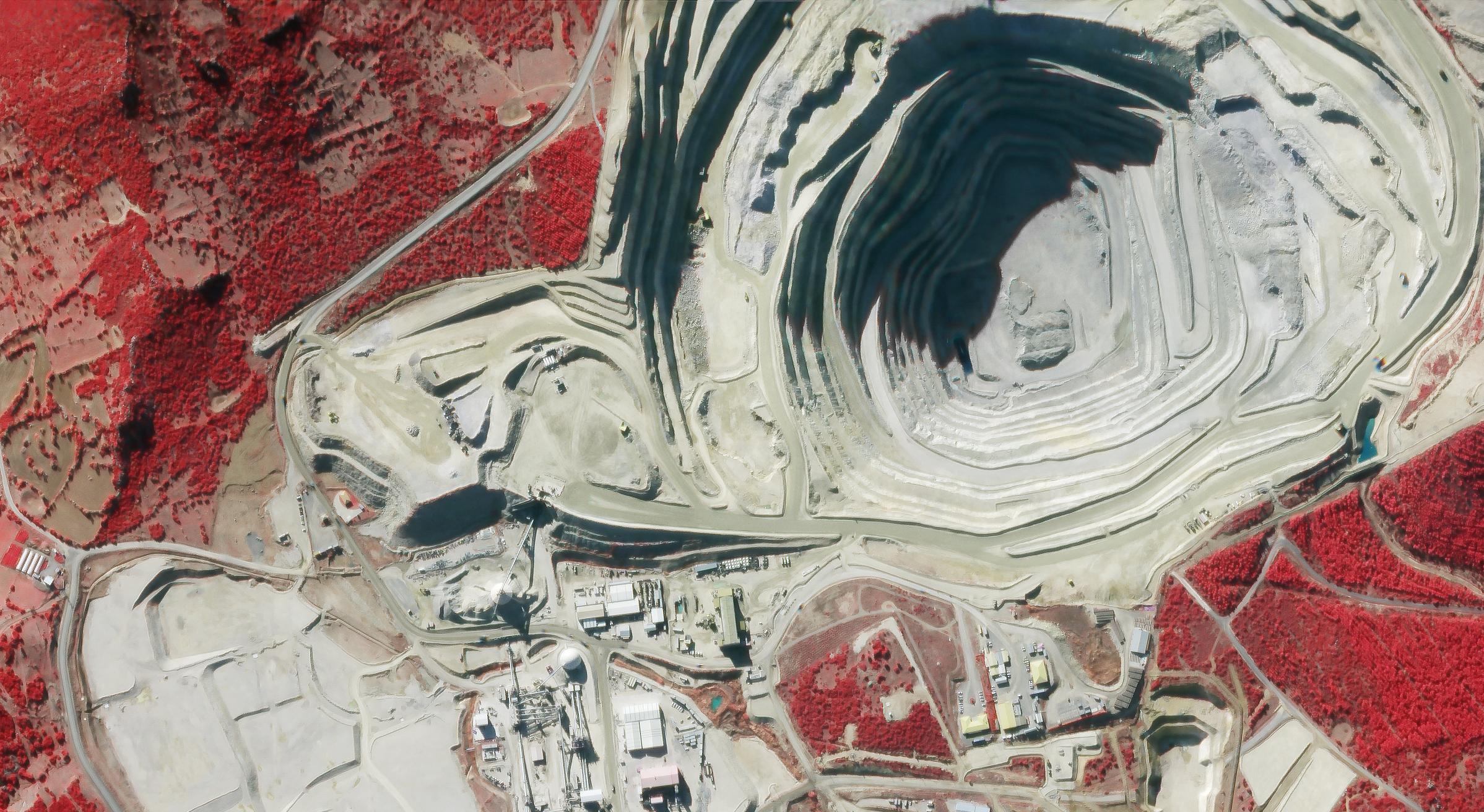 Gold Mine  Western Turkey