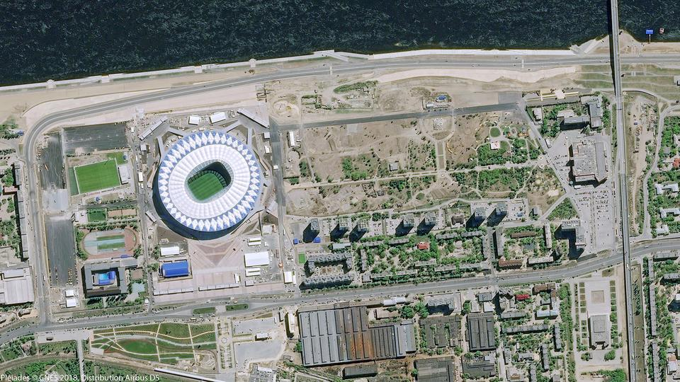 WORLD CUP FROM SPACE 2018